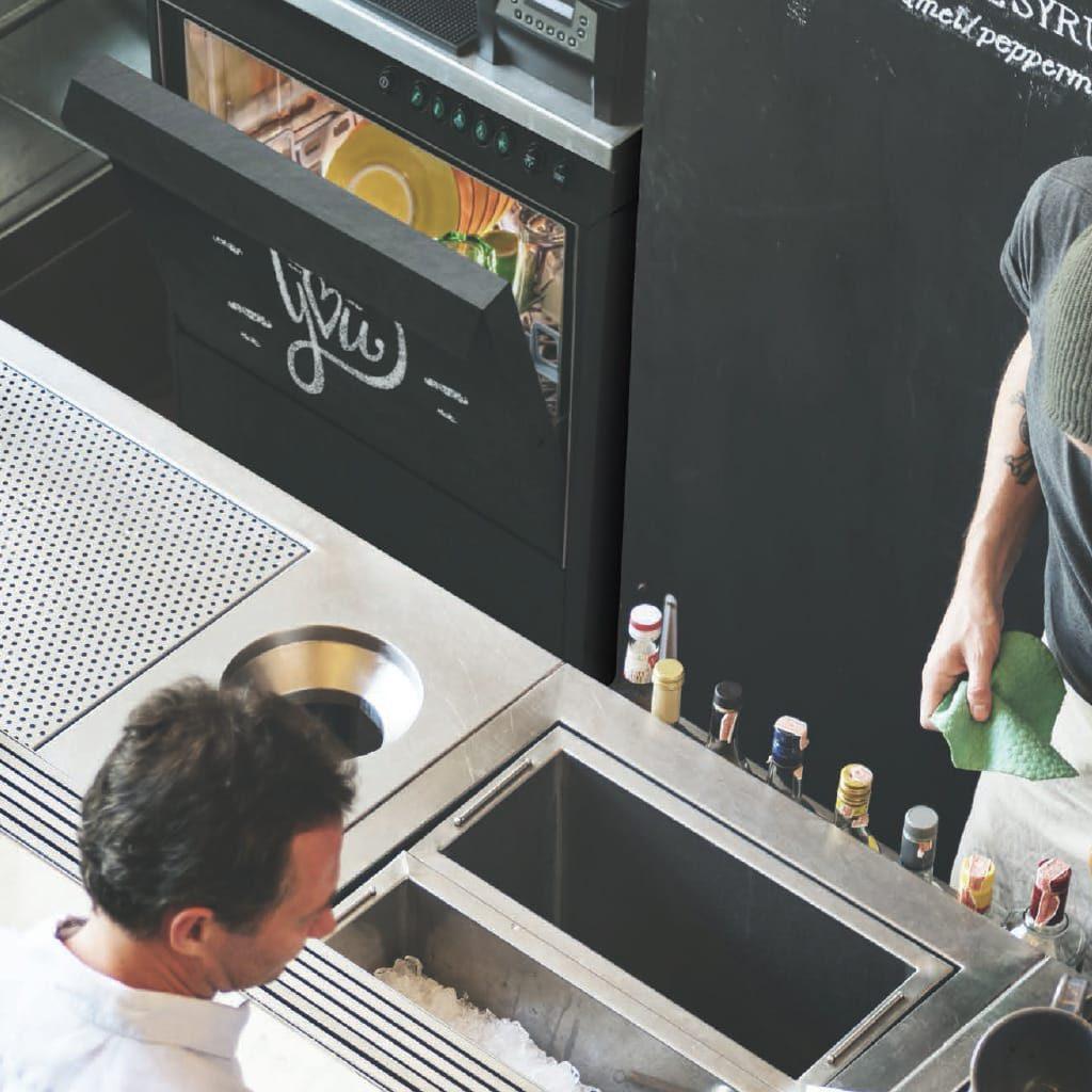 Glasswashers for bar, pub, wine bars, professional kitchens