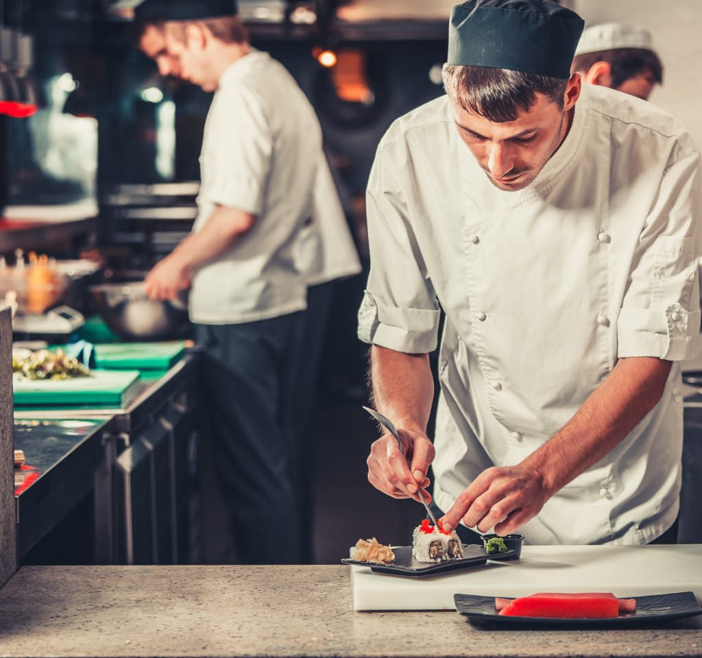 Dishwasher for restaurants, hotels and pizzerias