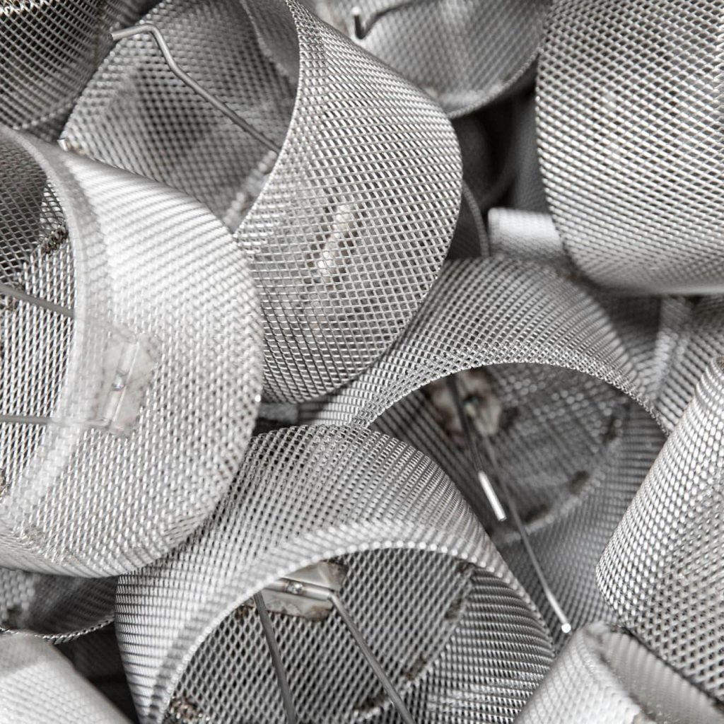 cestelli in acciao per lavastoglia professionale sistema project italia