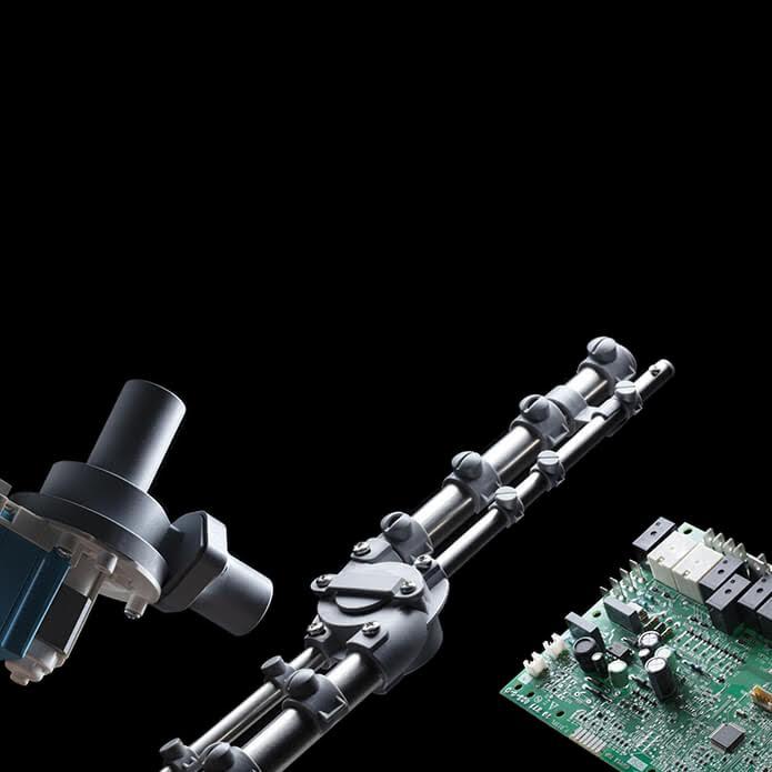intercambiabilità dei componenti della lavastoviglie sistema project italia