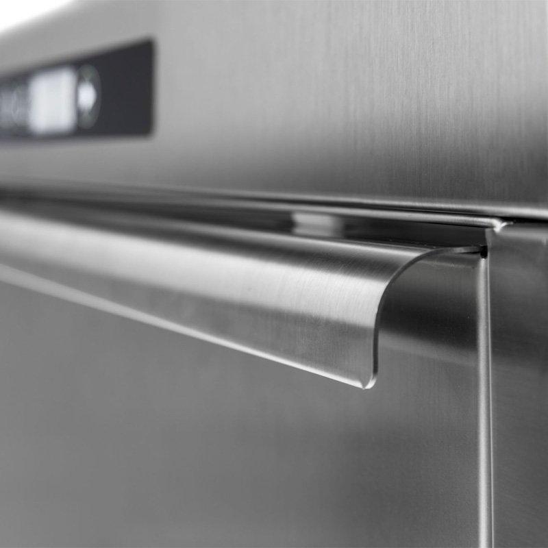 manieglia in acciaio portello lavastoviglie professionale project system italia